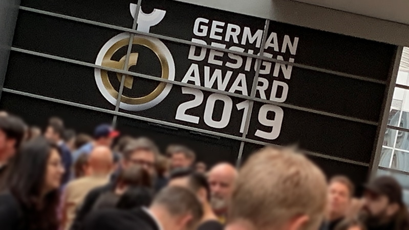 Attendees at the 2019 German Design Awards ceremony in Frankfurt am Main.